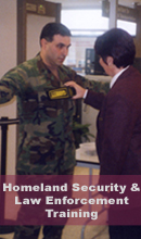 Homeland Security & Law Enforcement Training